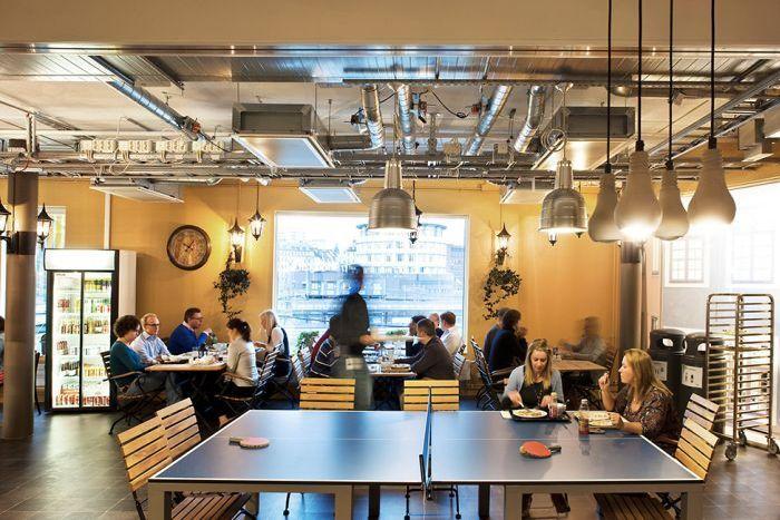 Новый офис Google в столице Швеции, Стокгольме