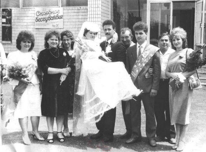 Свадьбы во времена СССР