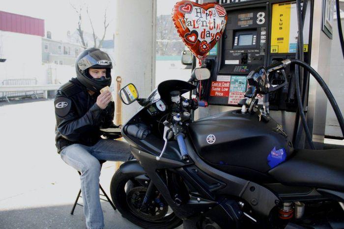 Странное свидание на день святого Валентина (15 фото)