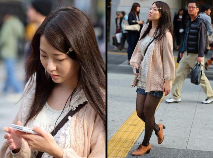 Подборка красивых японских девушек фото 534-689