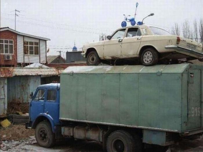 Казусы и забавные ситуации, возможные только в России