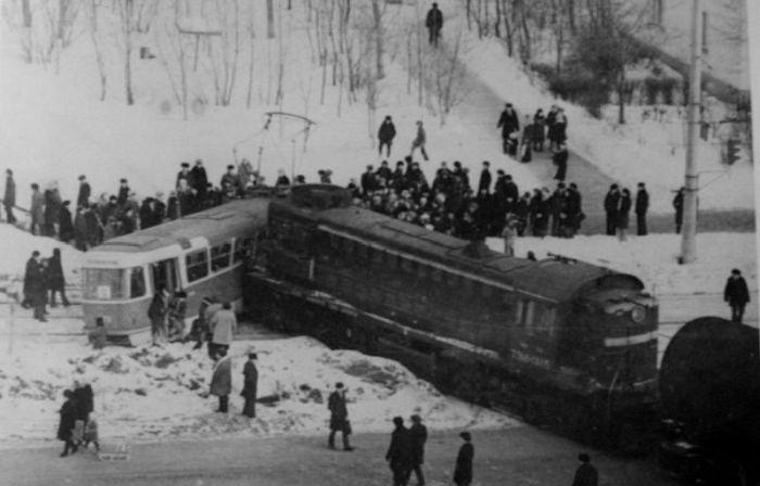 ДТП в советские времена