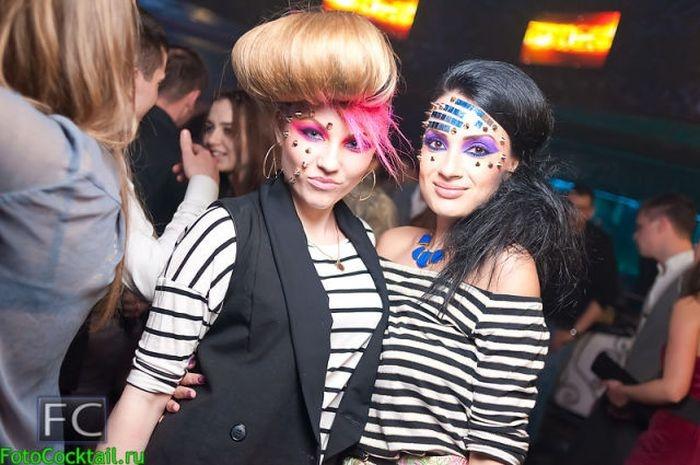 Подборка гламурных посетителей наших ночных клубов