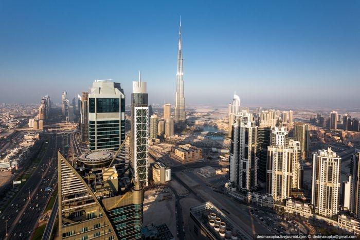Сногсшибательные панорамные виды с крыш Дубая