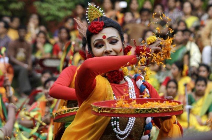 Cамый фееричный праздник в Индии - Праздник Холи