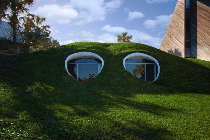 Уникальные сказочные дома