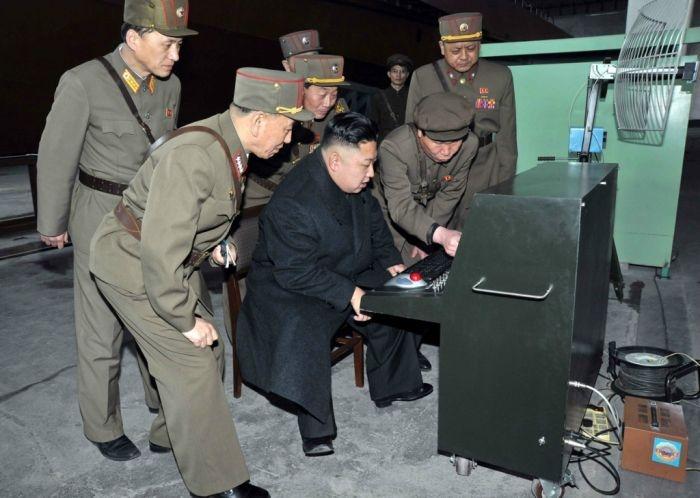Северная Корея, март 2013