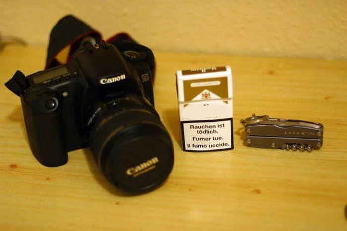 Любому фотографу следует носить с собой пачку сигарет
