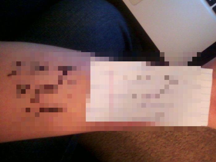 Самая трогательная в мире татуировка