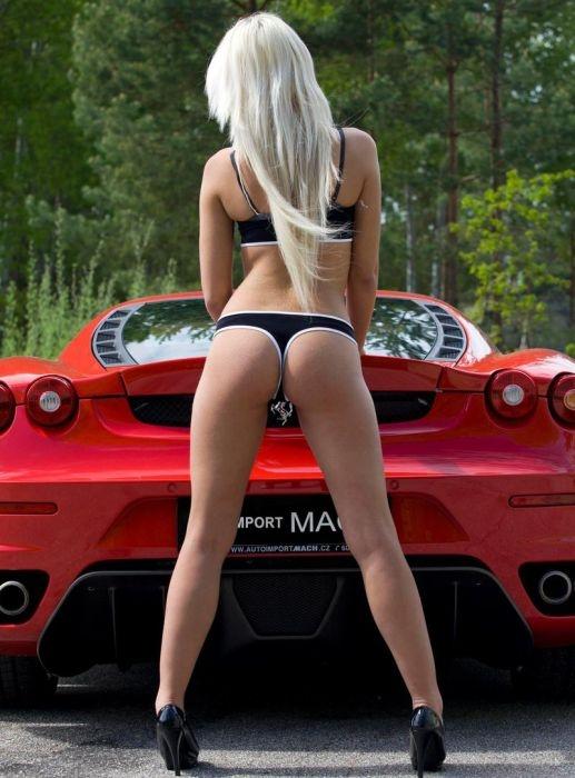 голые красивые девушки и авто