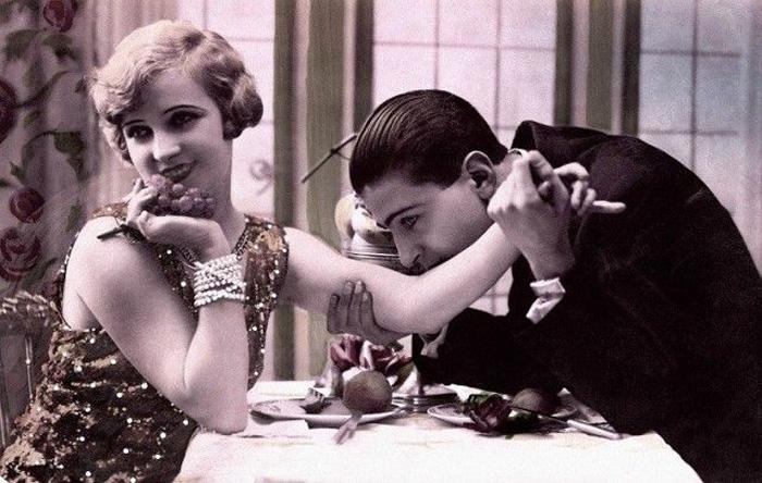 Советы 1938 года, как вести себя на первом свидании приличной девушке