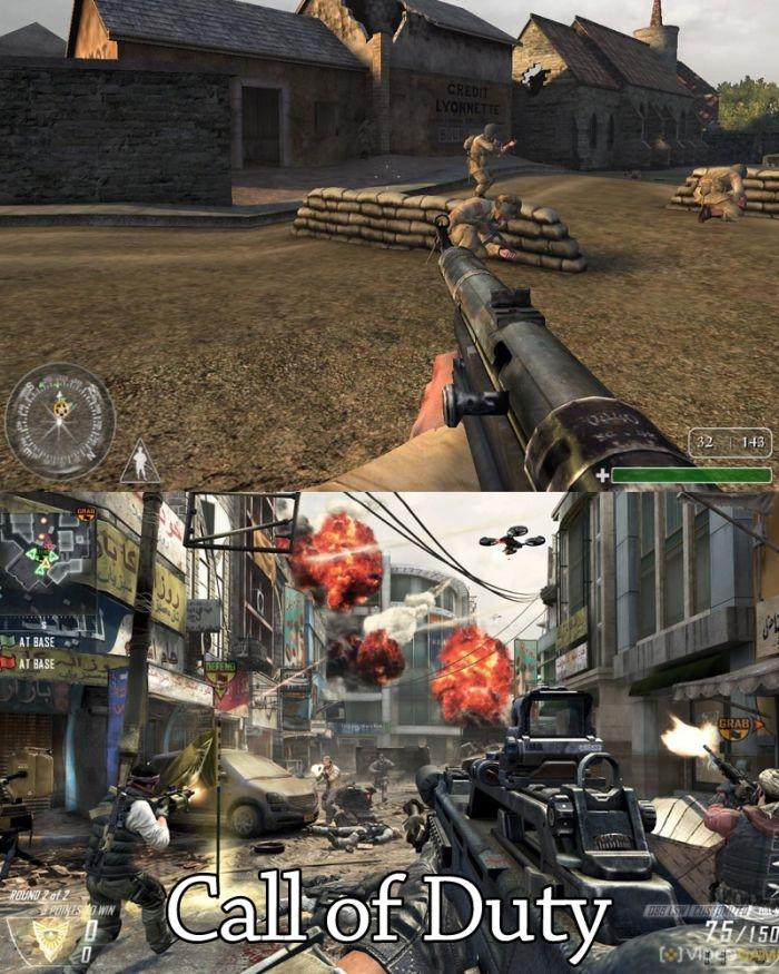 Ностальгия! Компьютерные игры в прошлом и в наши дни