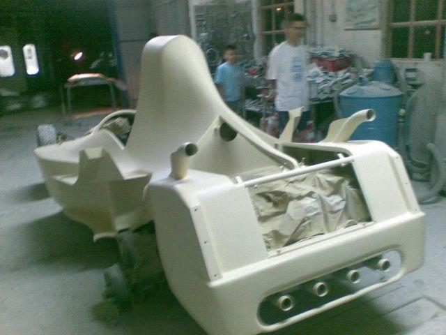 Самодельный гоночный автомобиль