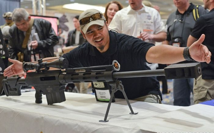В Лас-Вегасе прошла выставка оружия Airsoft Shot Show 2013