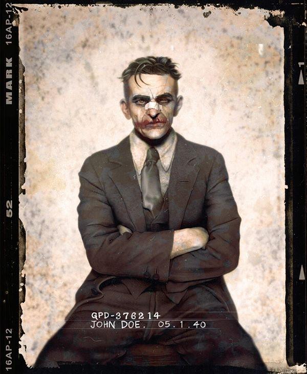 Подборка магшотов врагов Бэтмена начала XX века