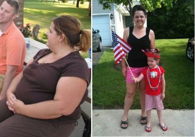 Люди их фото которые сбросили большой вес