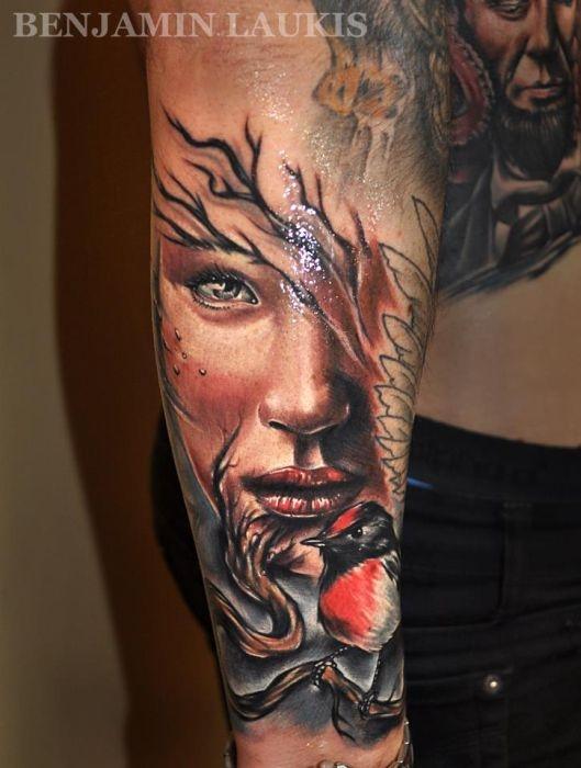 Крутые профессиональные татуировки