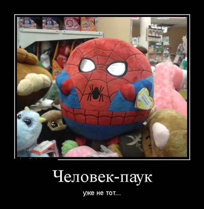 этом смешные демотиваторы человек паук экошпона