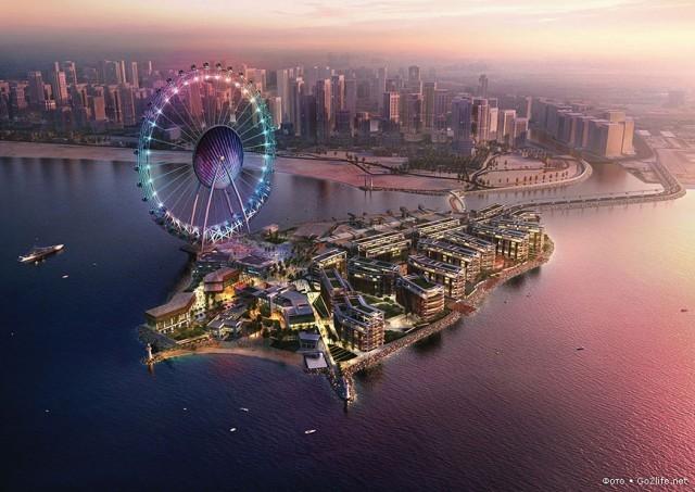 Остров голубых вод в Дубае