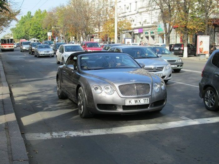 ������ ������ �� Bentley Continental GT, ������!
