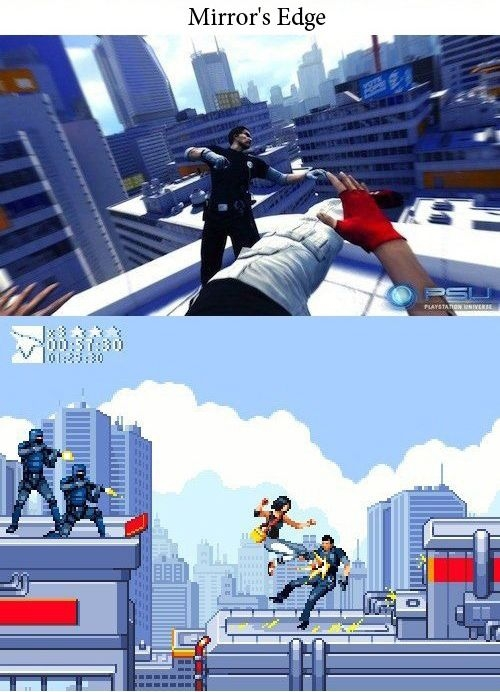 Как выглядели бы современные игры 20 лет назад (10 фото)