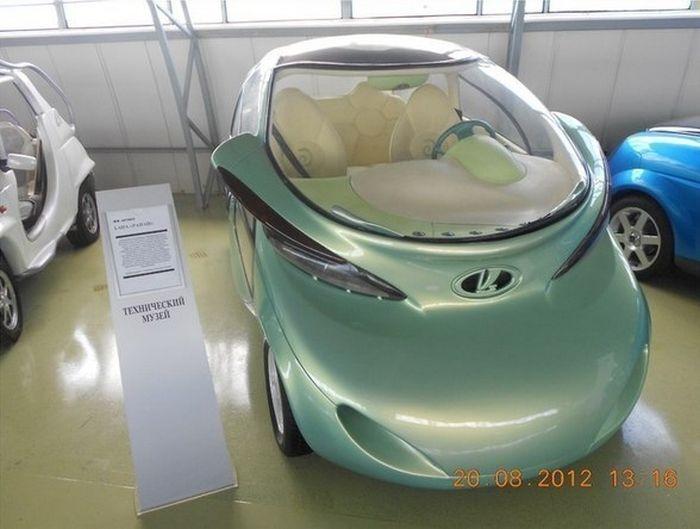 Коллекция концептов автозавода ВАЗ
