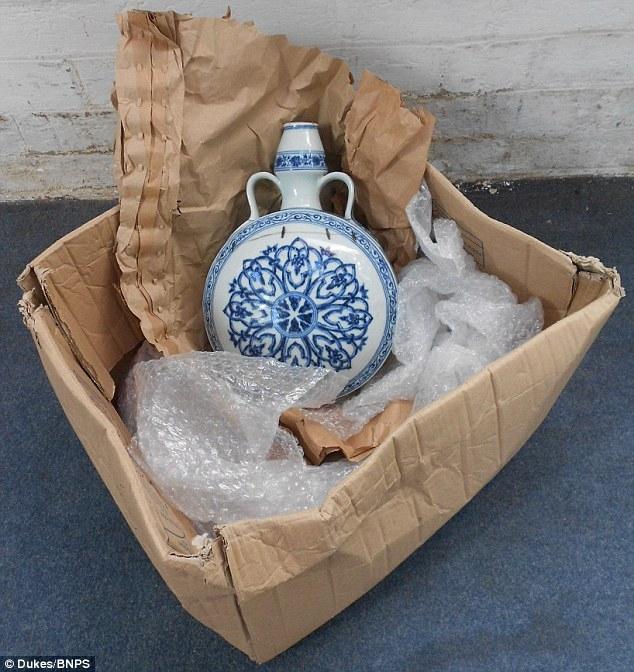 Завалявшаяся ваза, продана за 120.000 фунтов стерлингов