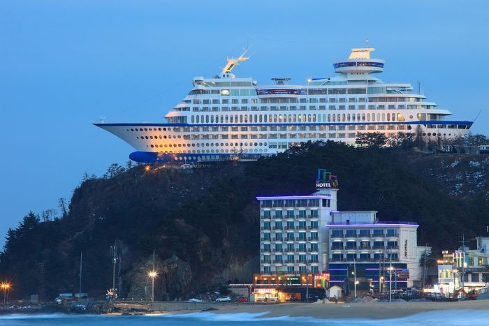 Удивительный комфортабельный отель в Южной Корее