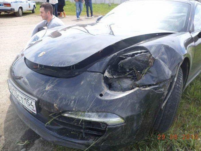 Неудачный тест-драйв Porsche за 5,5 миллионов рублей