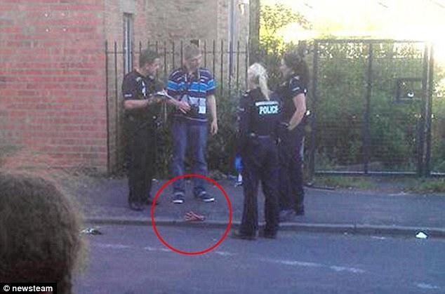 Полиция обнаружила на улице человеческую ладонь