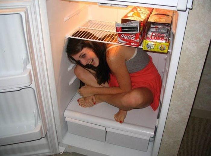 Подборка довольно необычных способов охладиться