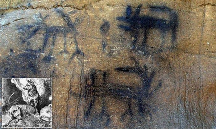 Обнаружены наскальные рисунки которым 6 000 лет назад