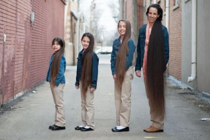 Американская семья Рапунцель