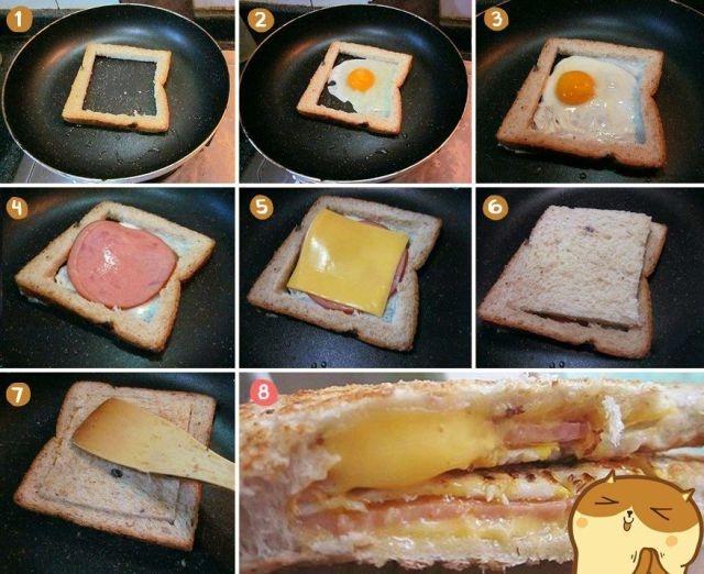 Вкусный бутерброд своими руками