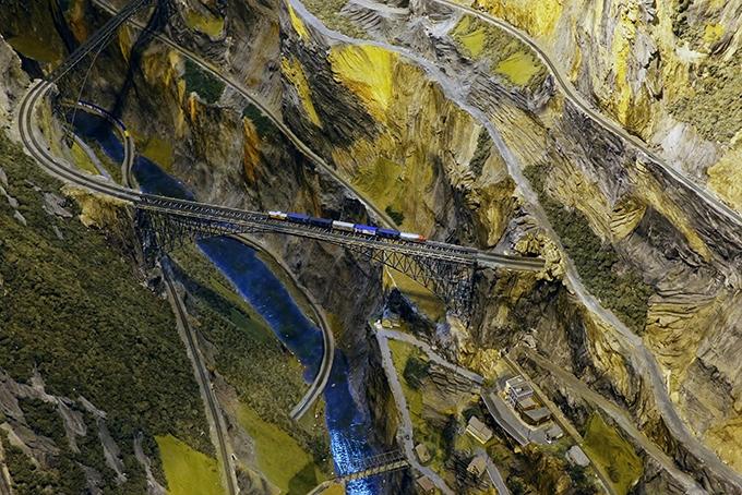Крупнейшая модель железной дороги в мире