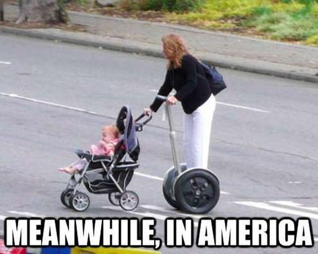 Подборка снимков из серии «тем временем в Америке»