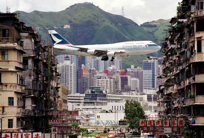 Cамый опасный в мире аэропорт - Кай Так