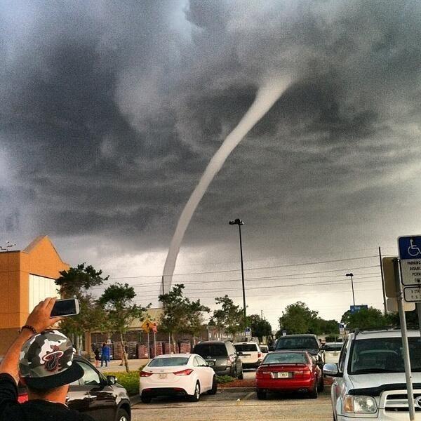 Водяной смерч во Флориде