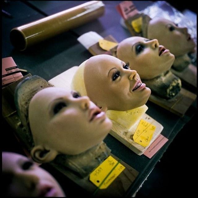 Фотографии с завода по производству секс-кукол