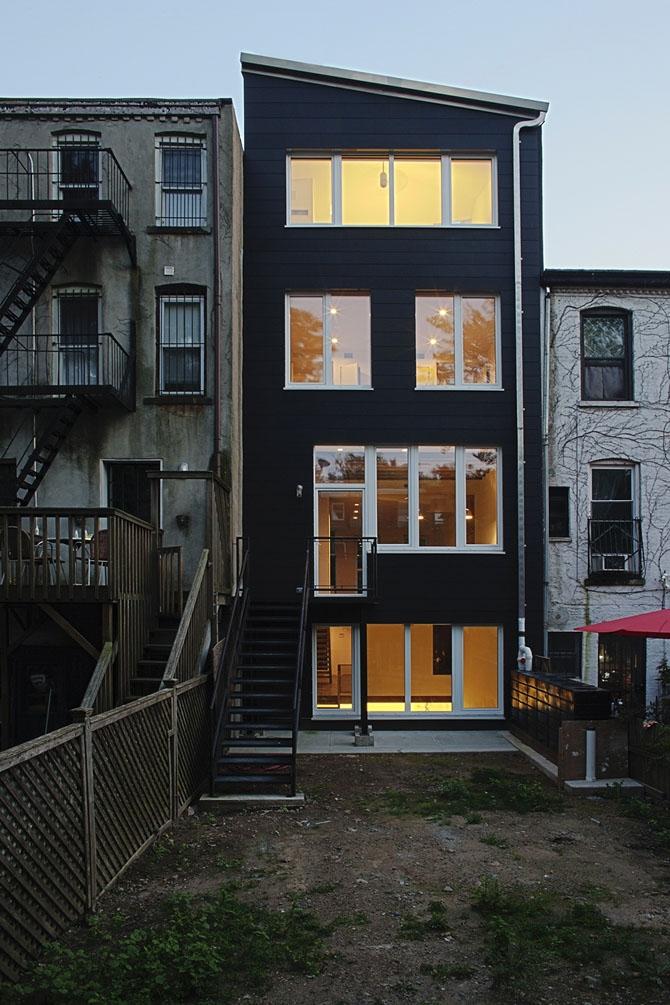 Первый сертифицированный пассивный дом в Нью-Йорке