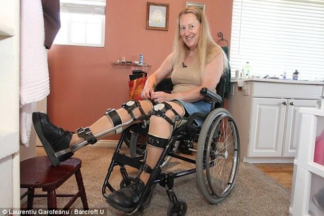 Здоровая женщина мечтает стать инвалидом-колясочником
