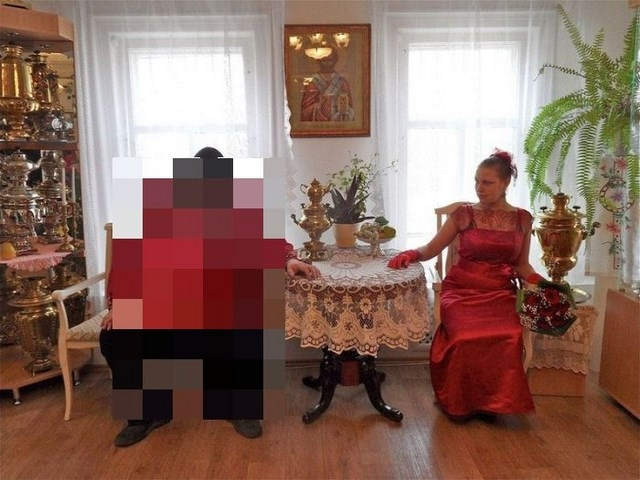 Свадьба в русской глубинке