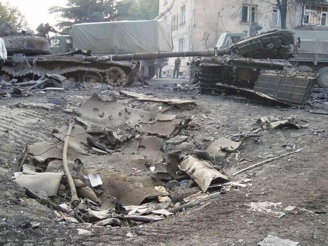 Интересная история об оторванной башне танка