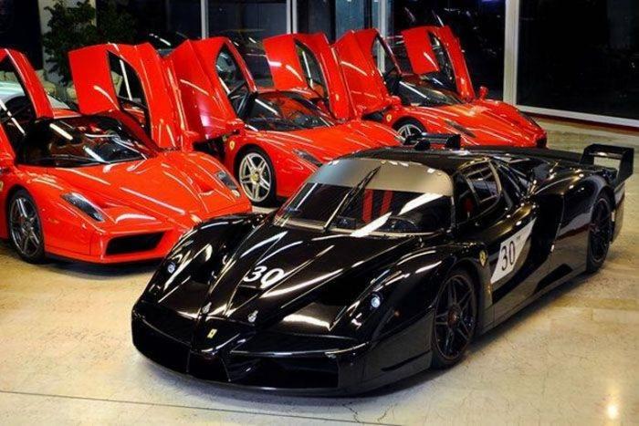 Ferrari Enzo и FXX Михаеля Шумахера выставили на продажу
