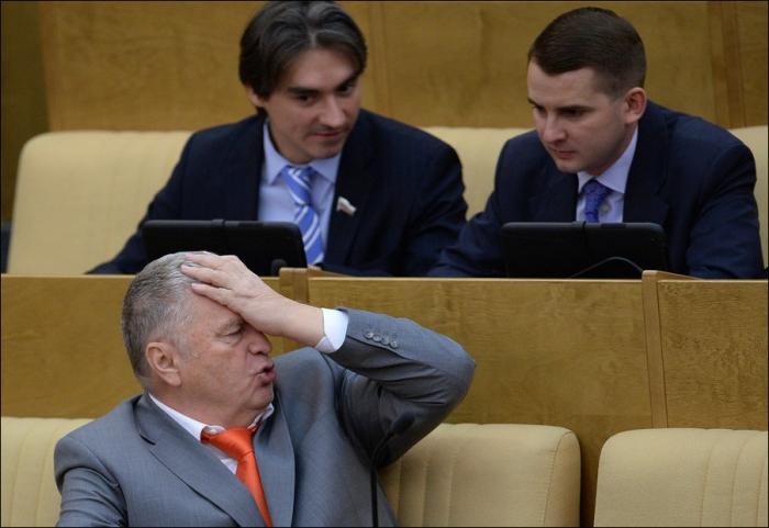 Тяжелые будни депутатов Государственной Думы