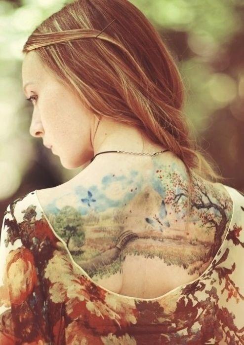 Удивительно красивые татуировки