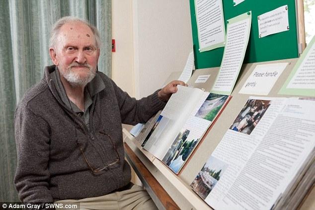 Пожилой британец записал все события своей жизни в дневник
