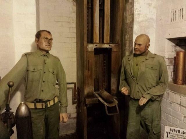 Небольшой музей Второй Мировой войны