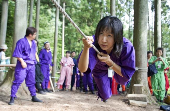 Обыкновенная школа ниндзя