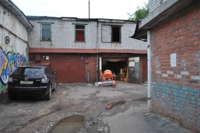 Новый вид московского жилья - благоустроенные гаражи